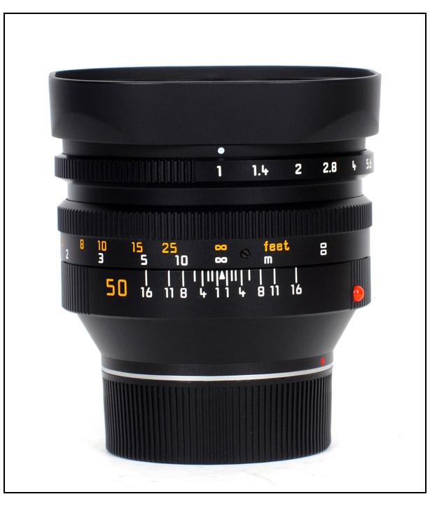 Leica Noctilux f/1.0 (E60).