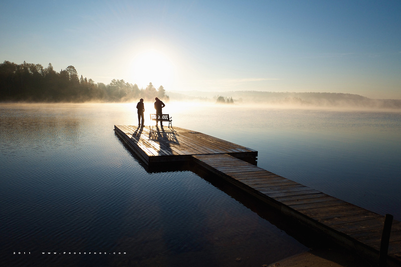 Sunrise at Oxtongue Lake, Part IV of VII.