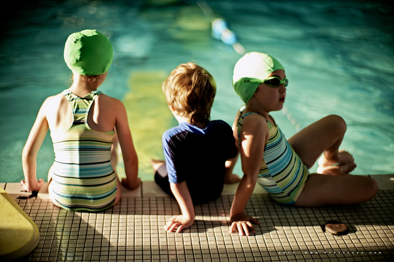 The swimming lesson.