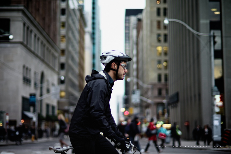 The cyclist, part 3.
