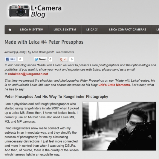 Peter | Prosophos - Made with Leica