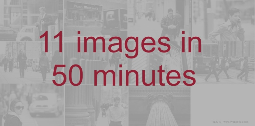 11 images in 50 minutes