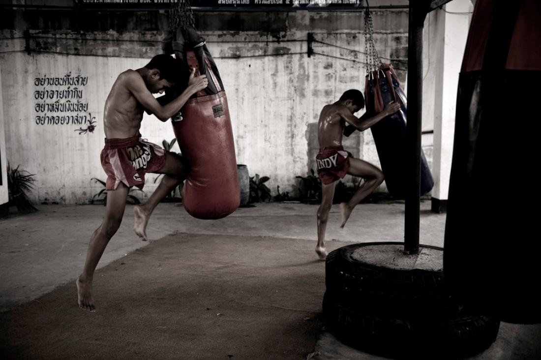 Muay Thai Kickboxing Camp Brings Hope To Thai Orphans