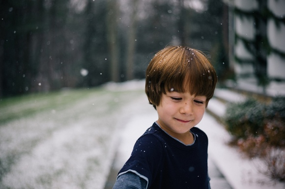 b-first snow