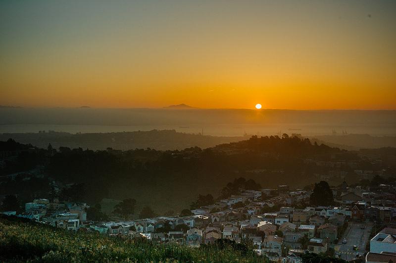 b-Mt Davidson SF sunrise