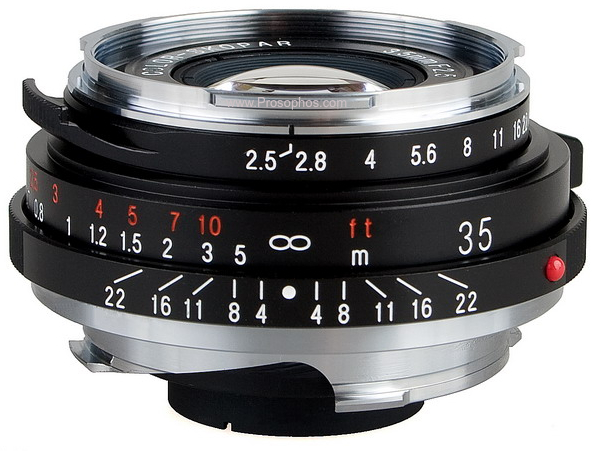 Voigtlander Color Skopar F2.5:35mm P II