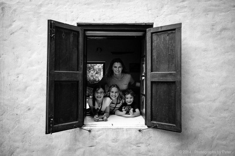 Five in the window