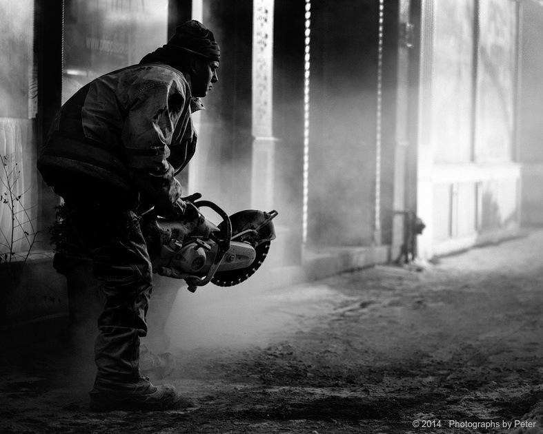 Rapture in concrete dust