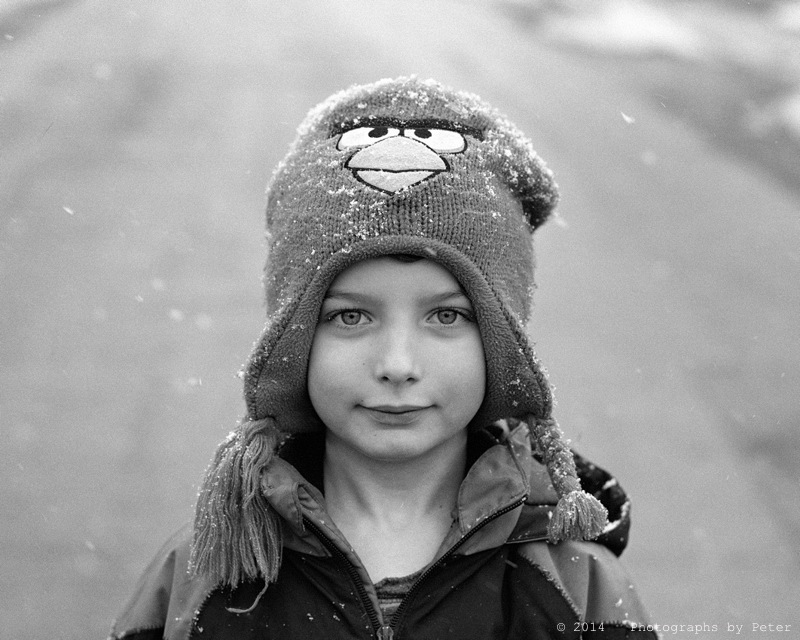 Winter Hat Portrait