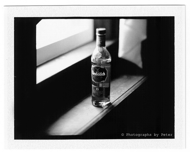Glenfiddich Window Portrait - Mamiya RZ Tilt-Shift Fuji Instant
