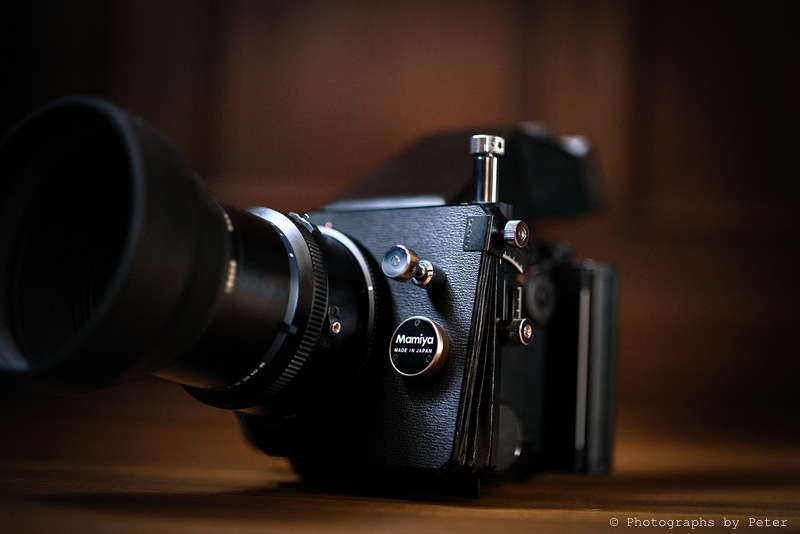 Mamiya RZ67 Tilt-Shift Accessory - Photographs by Peter