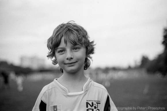 The beautiful game portrait