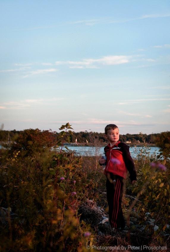 Boy, Lake Huron