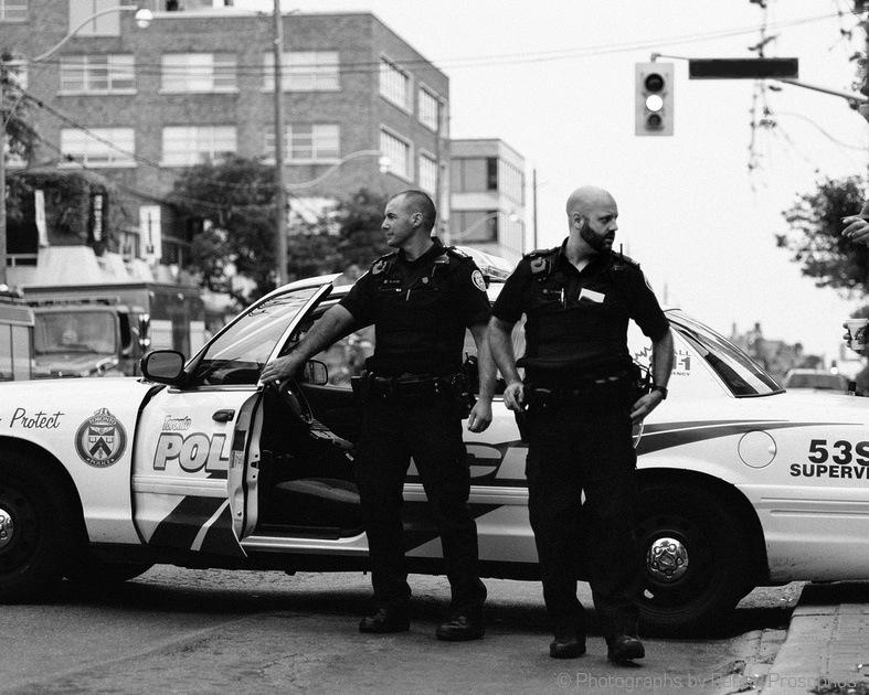 Officer North, Officer Sout