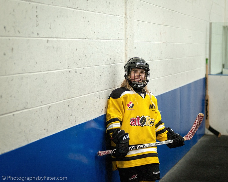 Hockey Girl (Saturday, Part 4)