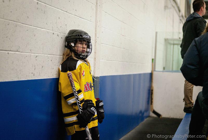 Hockey Girl (Saturday, Part 7)