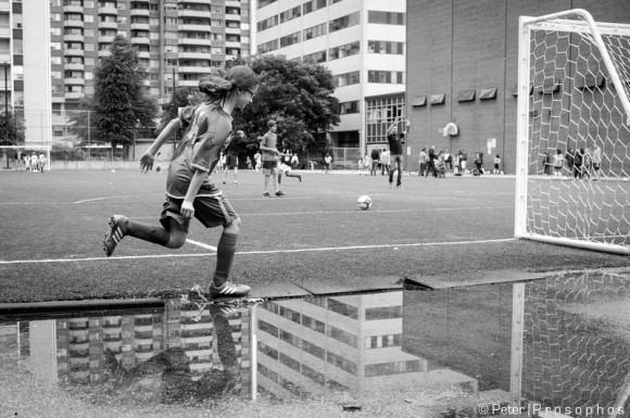 The beautiful game - homage to HCB
