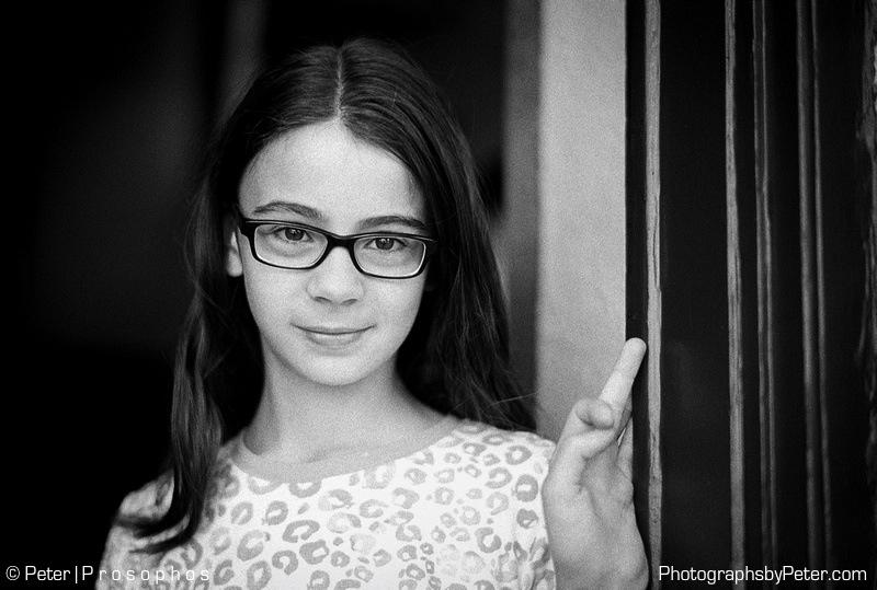 Her New Glasses