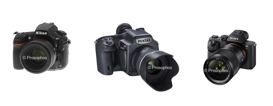 Nikon, Pentax, Sony