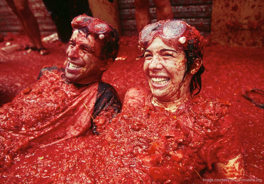 La Tomatina - Courtesy of Latomatina org