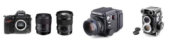 Prosophos Cameras and Lenses 2016