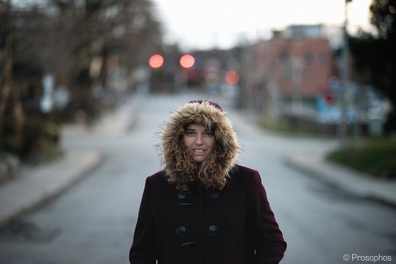 The Winter Coat Portrait