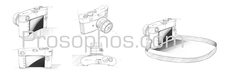 Sketches CCD Camera Prosophos