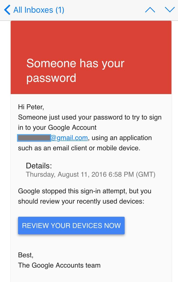 Prosophos -  Password Compromised