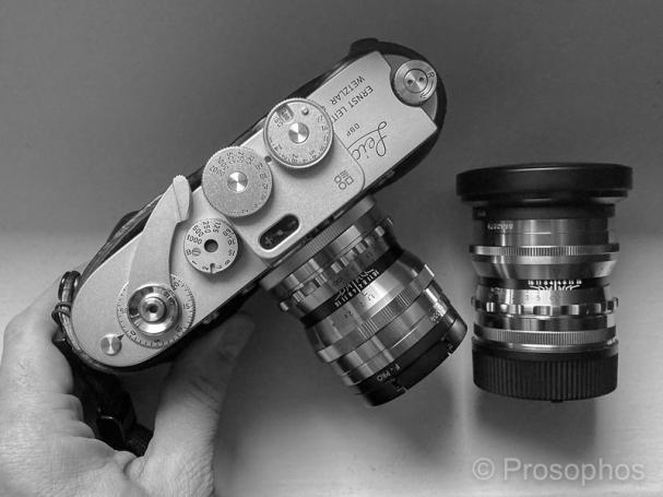 Prosophos - Gear - 2021 - Leica M2-R, Voigtlander 35mm 1.7, Voigtlander 50mm 1.5, Doomo Light Meter