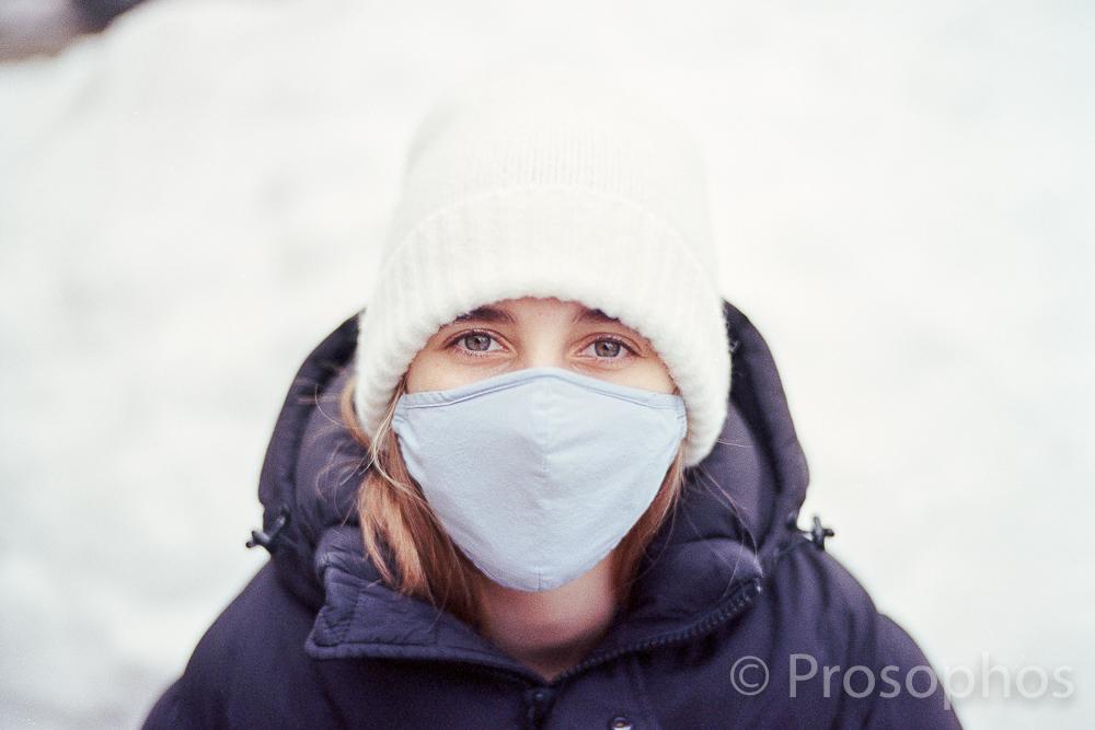The Pandemic Portrait - Prosophos - Leica M2-R - Voigtlander 50mm Nokton 1.5 - Kodak Portra 400