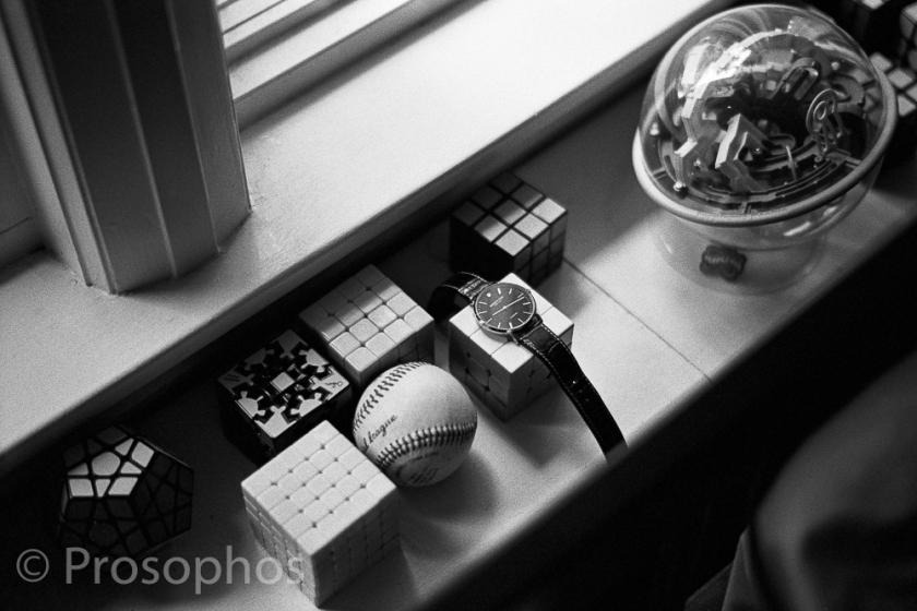"""Momentos of a Gloomy Day at Home, 4"" - Prosophos - Leica M3 - Voigtlander 50mm Nokton 1.5 II - Kodak Tri-X 400"