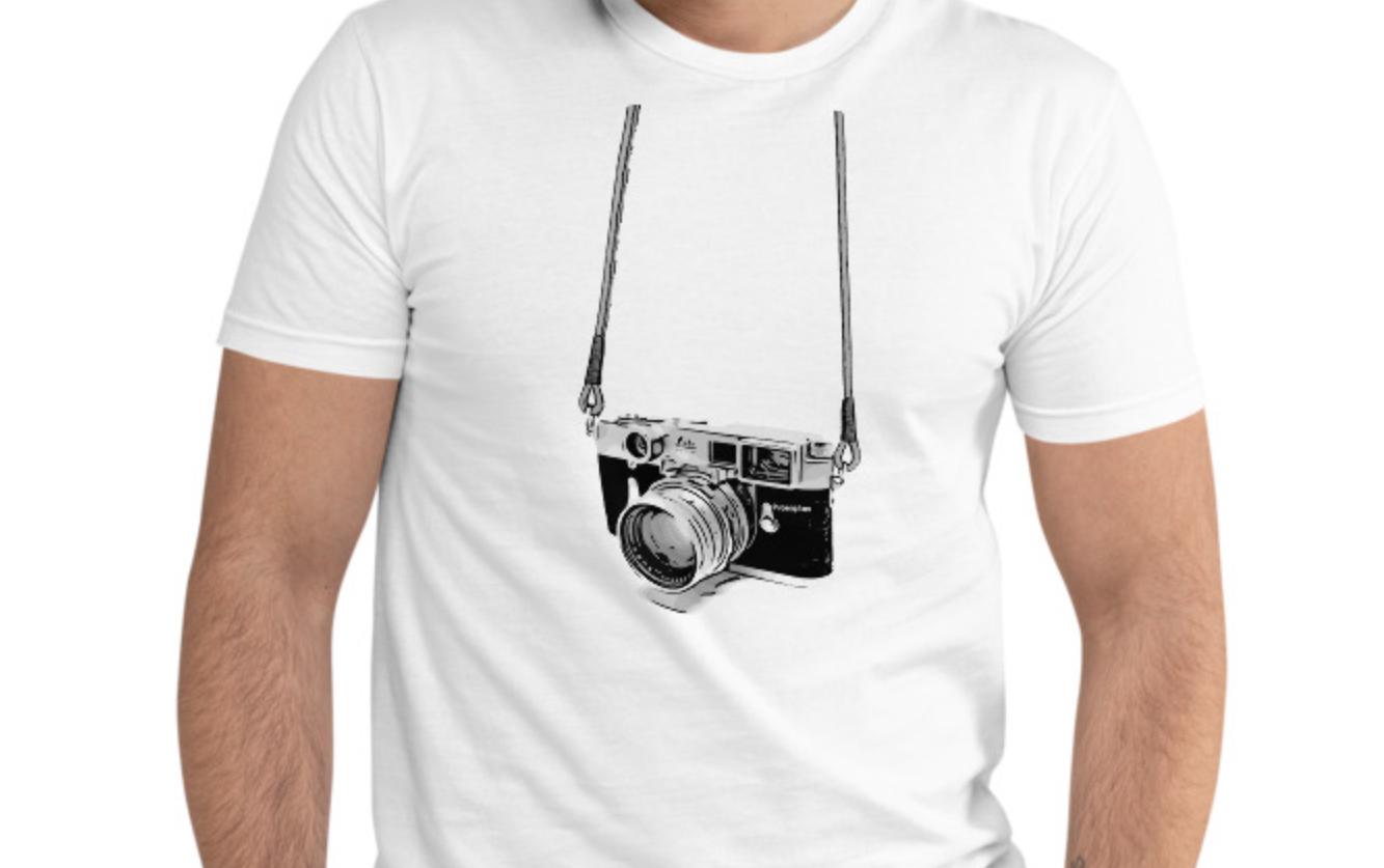 Prosophos Designed Rangefinder Camera T-shirt