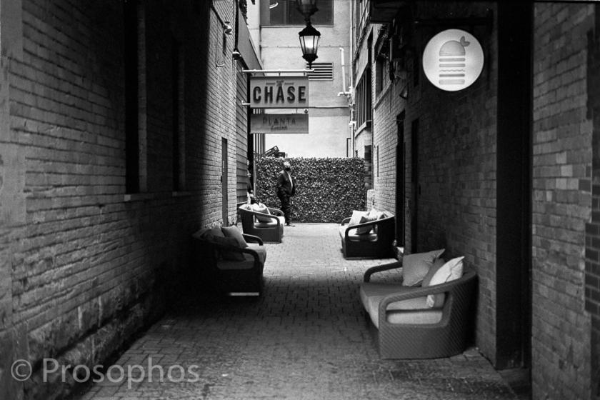 The Chase - Prosophos - Leica M3 - Voigtlander 50mm Nokton 1.5 II - Kodak Tri-X 400