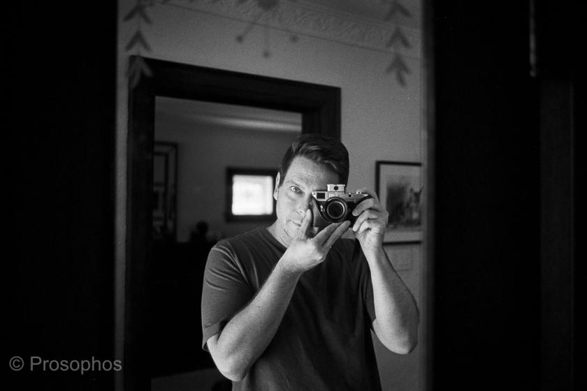 """M2-R and Me"" - Prosophos - Leica M2-R, Voigtländer Ultron Vintage Line 35mm f:2 Aspherical II, Kodak Tri-X 400, and Plustek 8200i"
