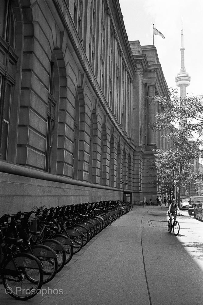 """Postcard from Toronto"" - Prosophos - Leica M2-R, Voigtländer Ultron Vintage Line 35mm f:2 Aspherical II, Kodak Tri-X 400, and Plustek 8200i"